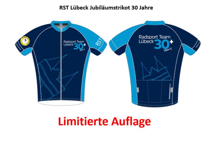 """RST Radhosen zu """"Jubi-Trikot"""" geliefert"""