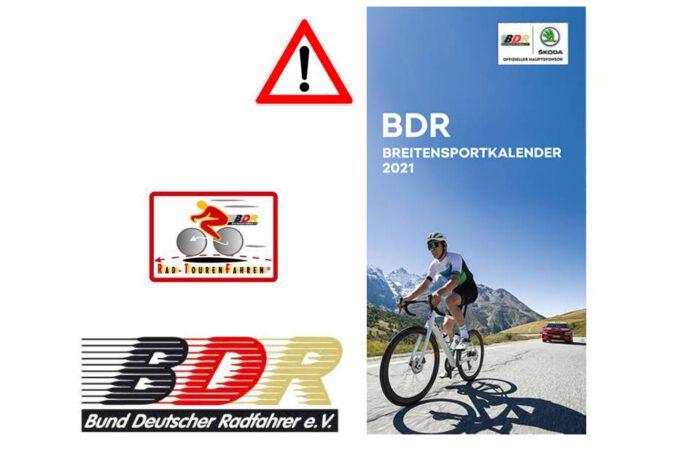 Änderungen im BDR-Breitensportkalender 2021